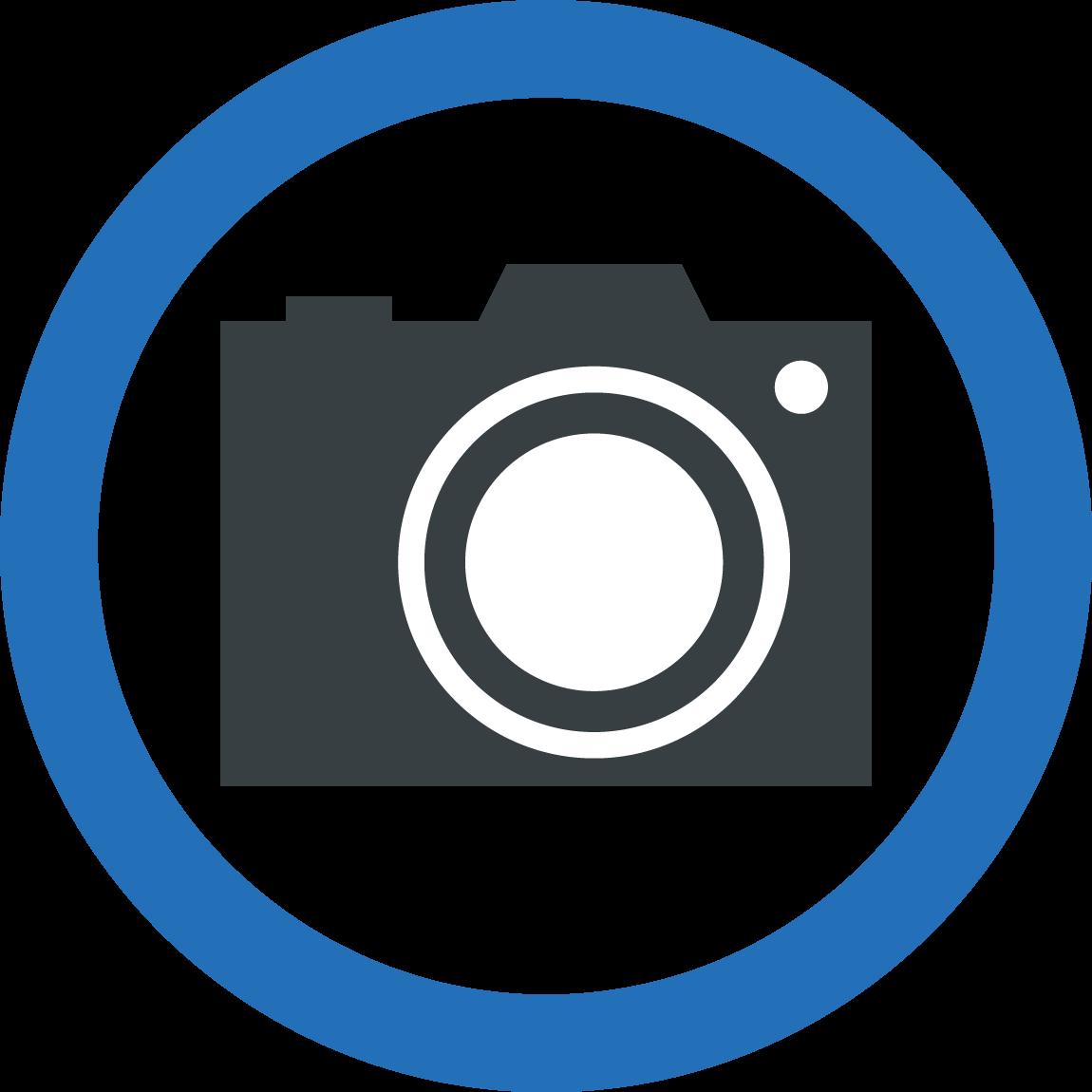 カメラのイラスト / 撮影禁止や許可表示にも   可愛い無料イラスト素材集