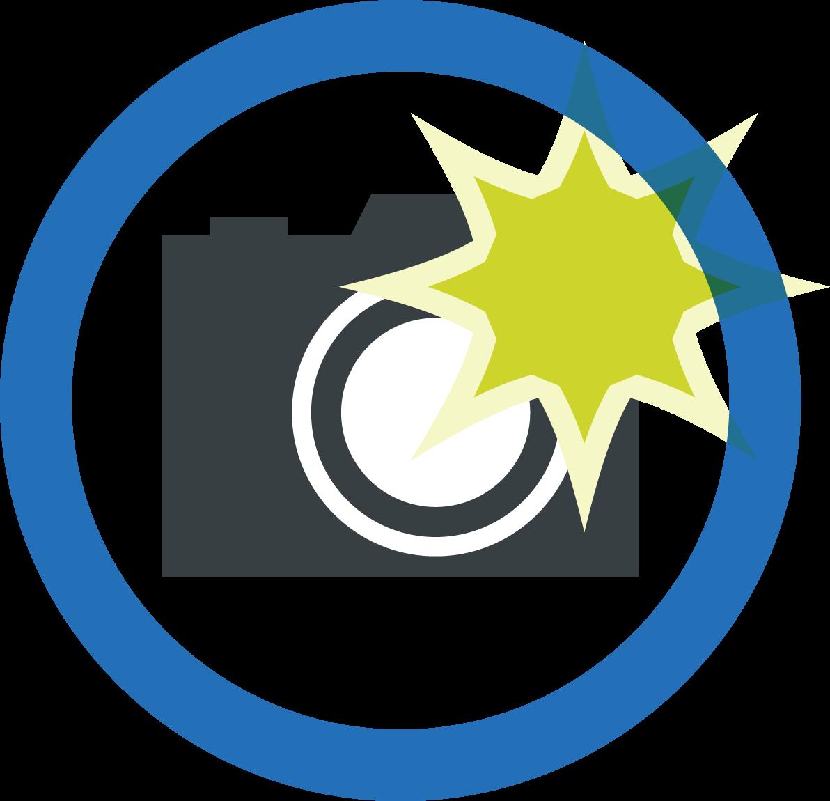 カメラのイラスト / 撮影禁止や許可表示にも | 可愛い無料イラスト素材集