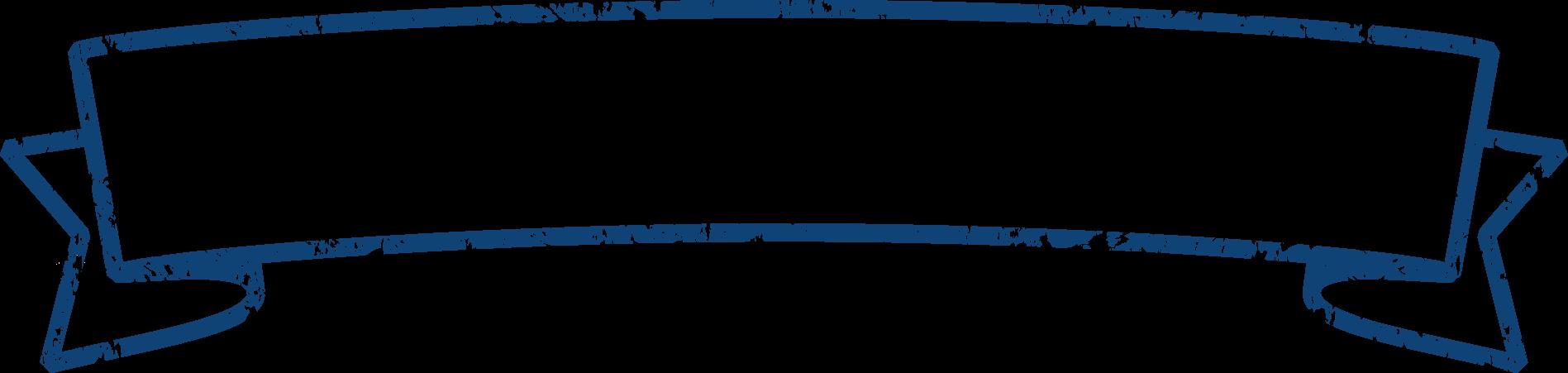 見出しタイトルリボン素材1 / 青色系テープ枠 | 可愛い無料イラスト素材集