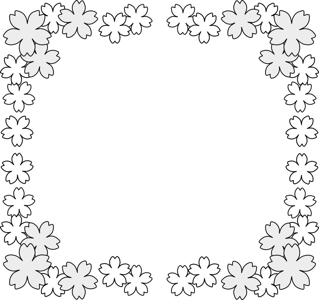 春 イラスト かわいい 花 素材画像 : 春 イラスト かわいい 花・桜
