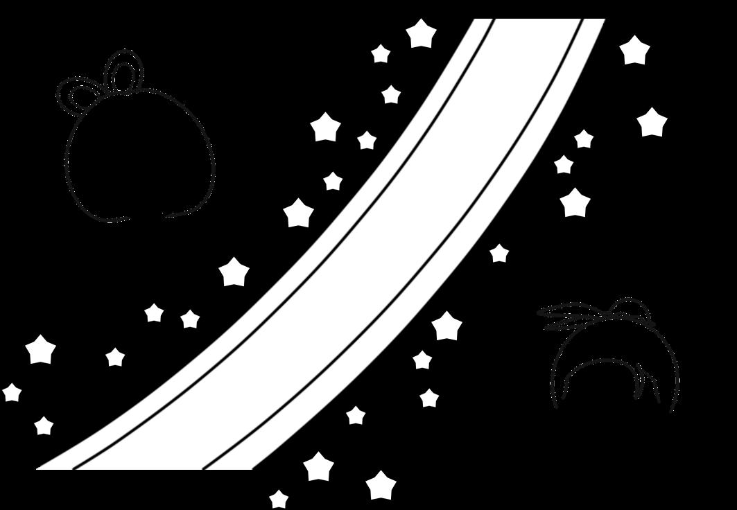 イラスト イラスト 塗り絵 : 七夕まつりイラスト(天の川と ...