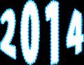 2014年の年号イラスト
