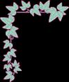 アイビーの葉っぱフレーム