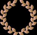 月桂樹、3位銅賞