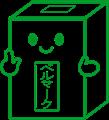 ベルマーク箱のイラスト