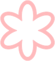 花のマークイラスト