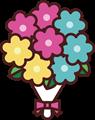 花束のイラスト・カラー