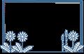 春の草花フレーム(タンポポとツクシ)