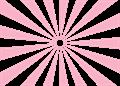日の出放射背景(基本)ピンク