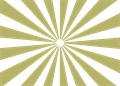 日の出放射背景(基本)金色