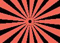 日の出放射背景(基本)赤色