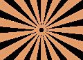 日の出放射背景(基本)オレンジ