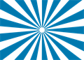 日の出放射背景(基本)青色