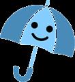 雨傘のイラスト