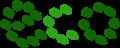 葉っぱでecoのイラスト