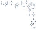 キラキラの光イラストのフレーム