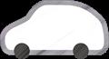 乗用車イラスト・白のSUV・RV