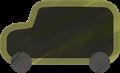 乗用車イラスト・黒のジープ
