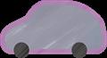 乗用車イラスト・灰色のSUV・RV