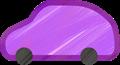 乗用車イラスト・紫のSUV・RV