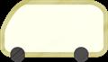 乗用車イラスト・白のワンボックスカー・ミニバン
