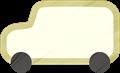 乗用車イラスト・白のジープ