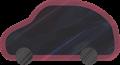乗用車イラスト・黒のSUV・RV