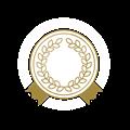 メダル、金の飾りリボン
