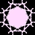ラベルフレーム・ピンク