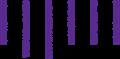 落ち込みリアクションマーク・紫