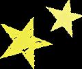 星のマーク・黄色