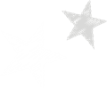 星のマーク・白と灰色