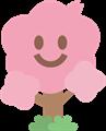 笑顔で応援する桜