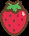 苺イラスト・カラー