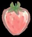 手書き苺イラスト