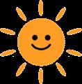 にっこり太陽
