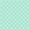 ペパーミントグリーンの格子柄背景素材