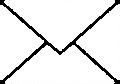 メールアイコンイラスト・シンプルタイプ