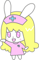 ウサギの看護婦さんイラスト