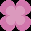 クローバーパーツ、ピンク