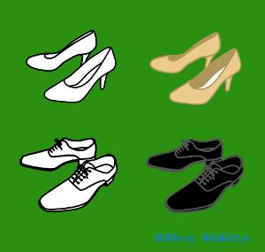 パンプス・革靴イラスト