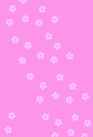 桜の花のはがき背景イラスト