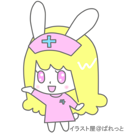 かわいいウサギの看護婦さん