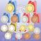 金メダル・銀メダル・銅メダルイラスト(金賞銀賞銅賞) / 手作りメダル素材に