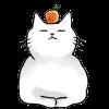 猫鏡餅のイラスト / 猫好きさんの年賀状に(´・ω・`)  手書き和猫