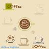 コーヒーのイラスト / 喫茶店、カフェなどに