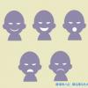 悪人イラスト(ワルイ顔・不審者・詐欺師) / 防犯に! いじめ対策に!悪口・陰口などの悪意表現