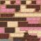 板チョコレートのイラスト / フレームやライン飾りも