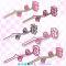 桃の花の枝イラスト / つまもの素材・和風と洋風
