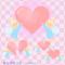 愛のハートを届けるかわいい天使 / LOVEや平和のイラスト